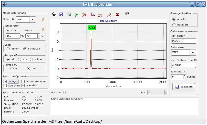 Experimentelle Entwicklung instrumenteller Methoden zur Echtzeitdetektion niedermolekularer, an der Zellphysiologie beteiligter Verbindungen mittels Ionenmobilitätsspektrometrie (IMS)